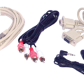 Cable Set for Audio Product names; Instreamer 100, Exstreamer 100 & 200, Annuncicom 100