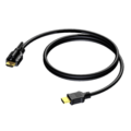 HDMI A CABLE 1.4 SINGLELOCKING – 30AWG – 1M