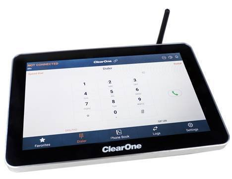 clearone   touch panel controller   make it smart